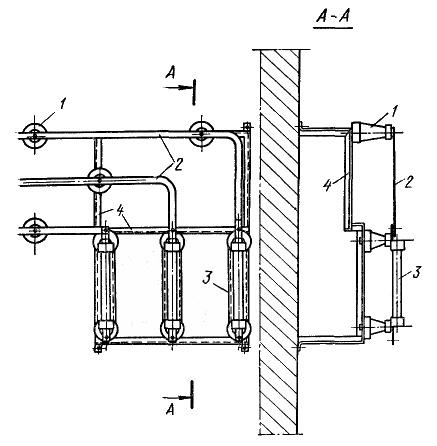 Одноместная сборка 6 — 10 кВ для установки предохранителей ПК